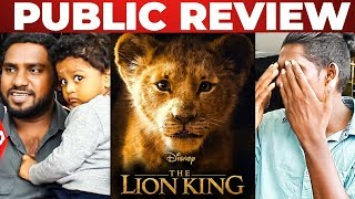 The Lion King Tamil FDFS 3DExperience Public Opinion | Siddharth | Robo Shankar