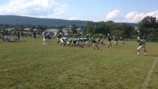 Glen McNamee reflects on Central Dauphin first week of football practice