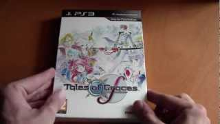 PS3 Tales of Graces f Limited Edition Unboxing