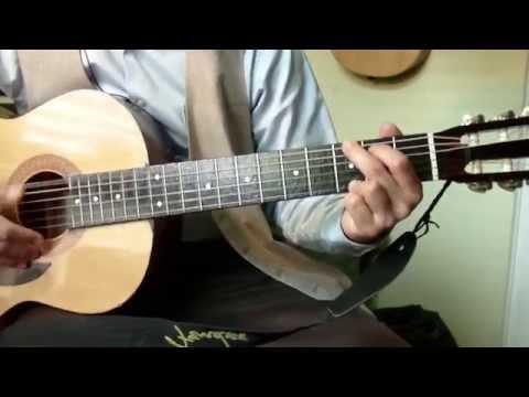 TUTORIAL Alabanza SOLO DEJENME ADORARLE en guitarra