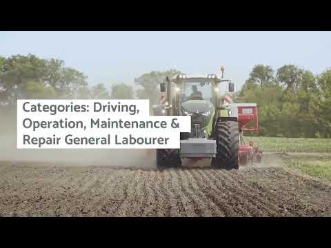 Job Opening In Canada: Farm Equipment Operators.