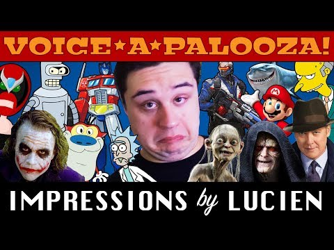 Voiceapalooza! - 50 Awesome Impressions by Lucien