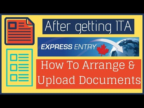 🇨🇦 How To Upload Documents While Submitting Application
