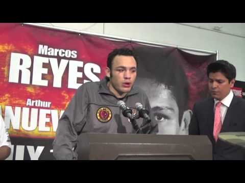 Chavez El Paso post fight