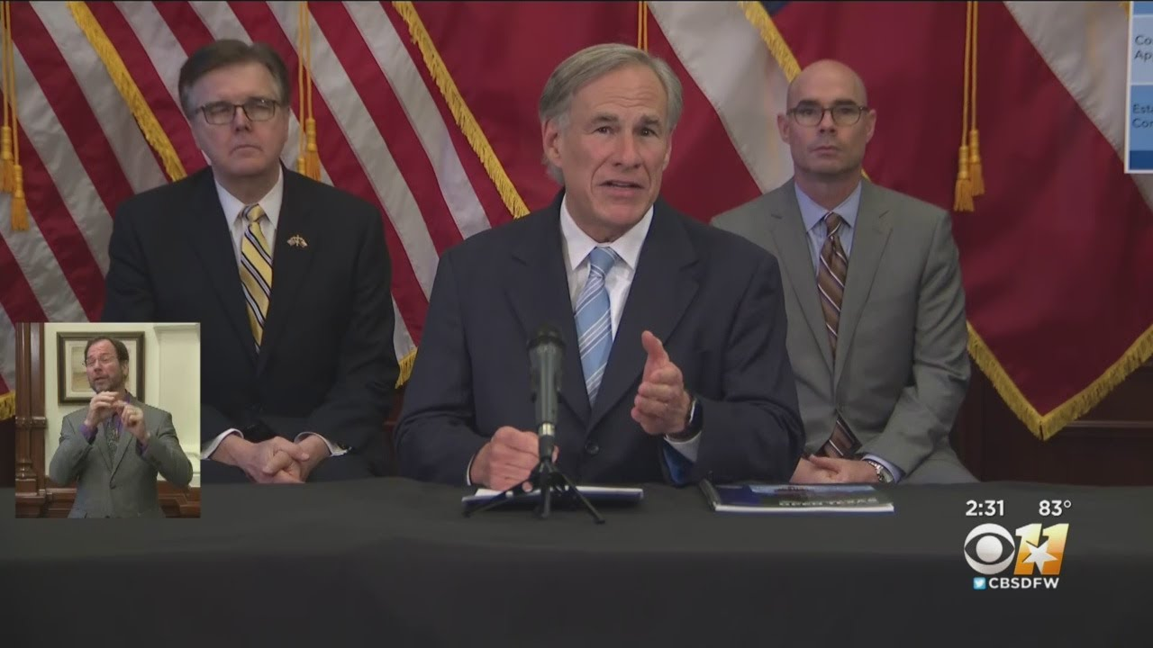 Governor Abbott: Stay at Home order to expire April 30th