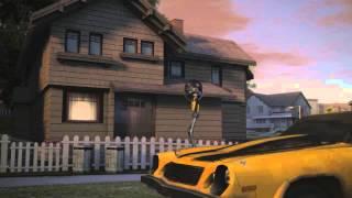 Прохождение игры Transformers 1 (1-2 Миссия)