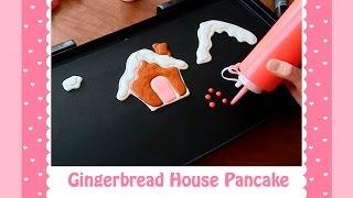 Gingerbread House Pancake Art By Jenni Price