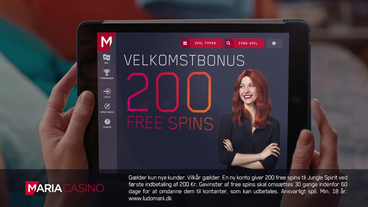 Maria Casino Velkomsttilbud 1 September 2018 Youtube