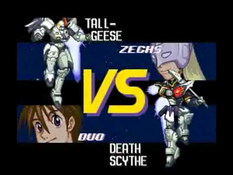Mobile Suit Gundam Wing: Endless Duel SNESSFC  Story Mode Lgplay