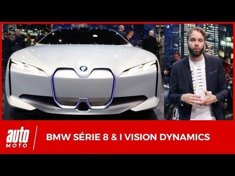 BMW Série 8 & i Vision Dynamics [SALON FRANCFORT 2017] : hauts de gamme taille basse
