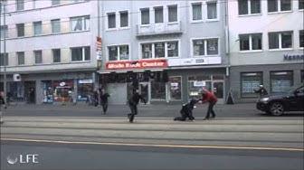 Grand Theft Auto (GTA) Frankfurt am Main in Real Life Teil 1 (zugucken lohnt sich)