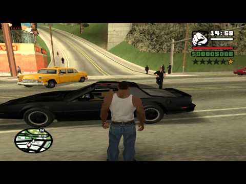 GTA: San Andreas - Knight Rider: Old School Mod