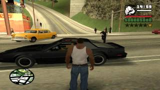 GTA: San Andreas - Knight Rider: Old School mod