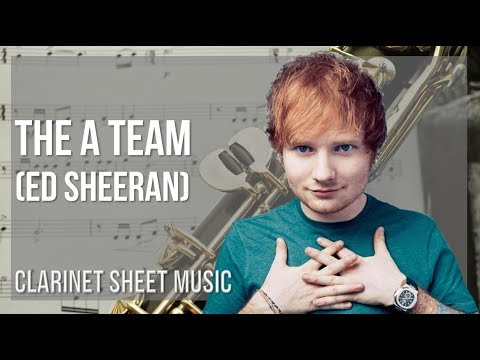 EASY Clarinet Sheet Music: How to play The A Team  Ed Sheeran
