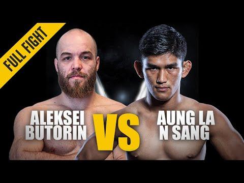 ONE: Best Fights | Aleksei Butorin vs. Aung La N Sang | N Sang wins via Stoppage | Jul 2016