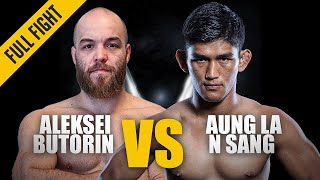 ONE: Best Fights | Aleksei Butorin vs. Aung La N Sang | N Sang wins via Stoppage | Jul 2016