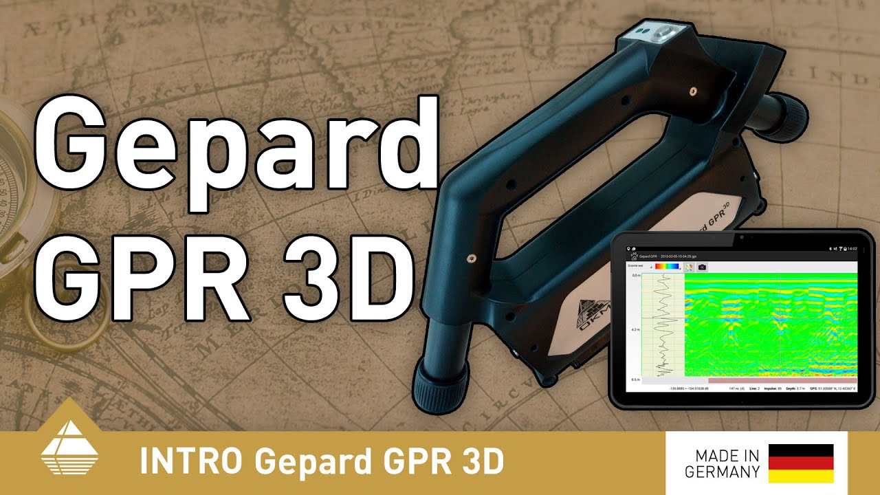 Ground Penetrating Radar Okm Gepard Gpr 3d English