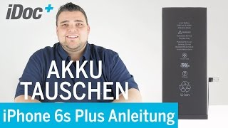iPhone 6s – Replącing the battery [german]