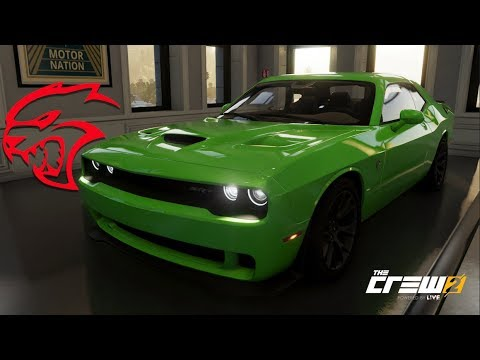 the crew 2 dodge challenger hellcat customization top speed run review youtube. Black Bedroom Furniture Sets. Home Design Ideas