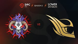 Arkosh vs Felt Game 1 - DPC NA League S2: Lower Division w/ Lyrical \u0026 Trent