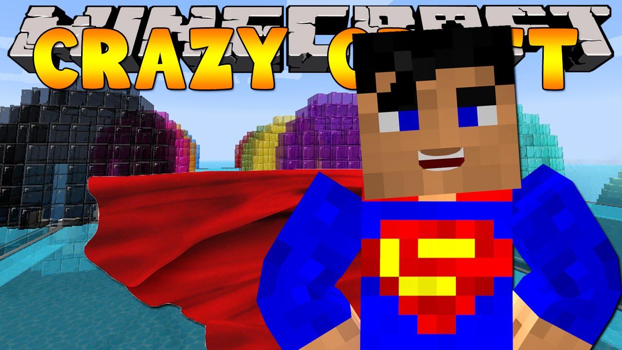 Minecraft crazy craft 3 0 duplicating superhero armour for Crazy craft 3 0 server