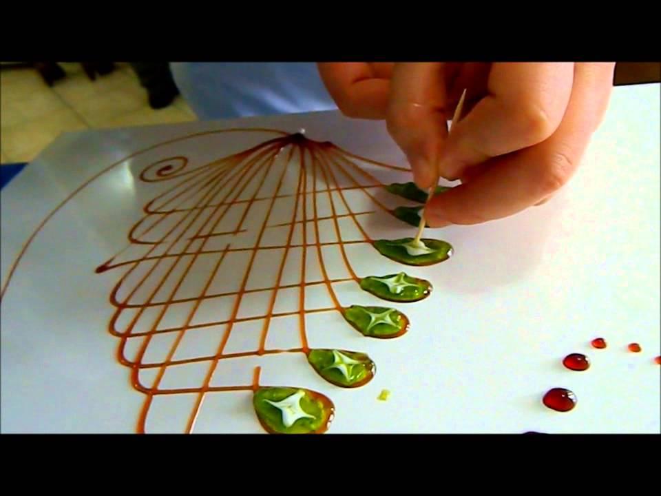 Yemeklerdeki süslemeler ve desenler