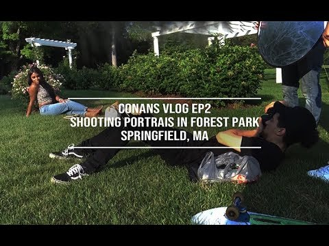Shooting Portraits In Forest Park | (Springfield, MA) | Canon T5 | 50mm 1.8