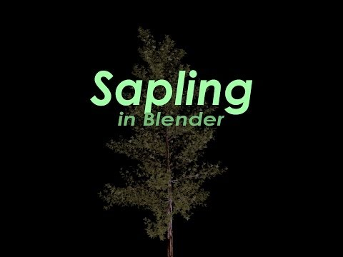 Tutorial: Sapling in Blender