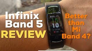 Infinix Band 5 Review (Better than Mi Band 4?)