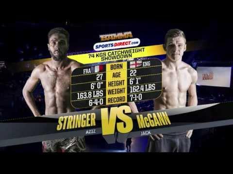 BAMMA 21: (Prelim) Jack McGann vs Aziz Stringer