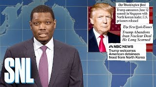Weekend Update on Trump Securing Release of American Prisoners - SNL