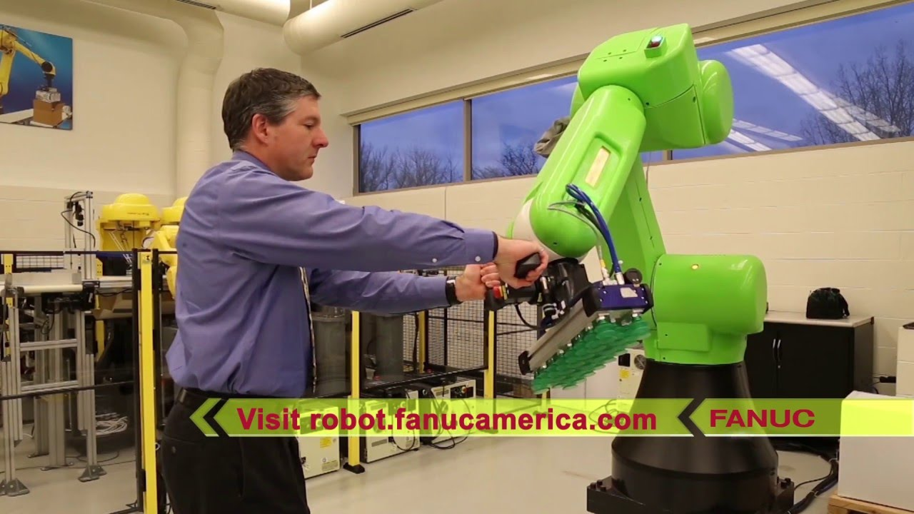 Hand Guidance Feature for FANUC CR-35iA Collaborative Robot