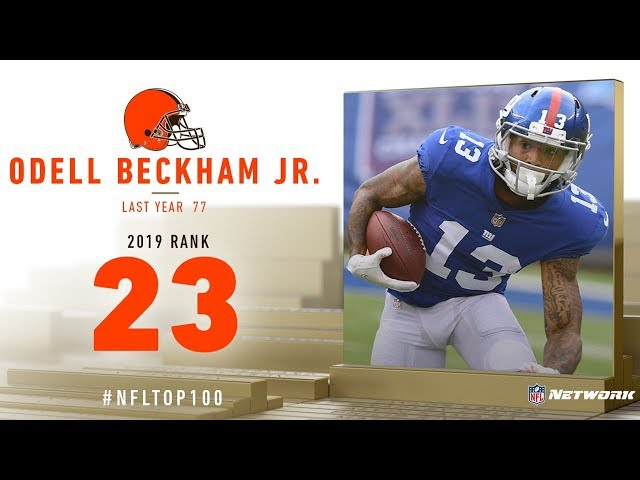 #23: Odell Beckham Jr. (WR, Browns) | Top 100 Players of 2019 | NFL
