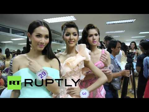 Thailand: Transgender beauty pageant heats up Pattaya