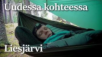 Ensimmäistä kertaa Liesjärven kansallispuistossa
