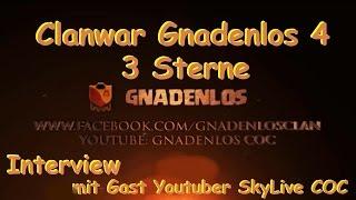 Gnadenlos 3 Sterne Clanwar mit SkyLive COC    Rathaus 9 bis 11    Clash of Clans ★ Deutsch
