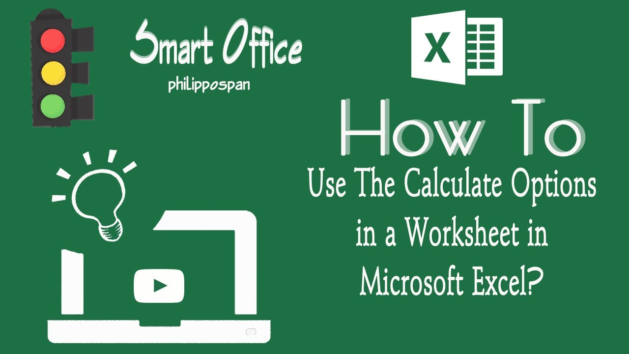 How To Calculate a Worksheet In Excel 2016
