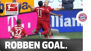 Robben's Belly Goal – Unusual Finish to a Perfect Counterattack