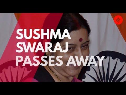Sushma Swaraj no more