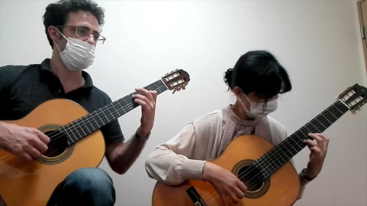 Tango Duet (Francisco Tárrega) performed by Isako & Carl