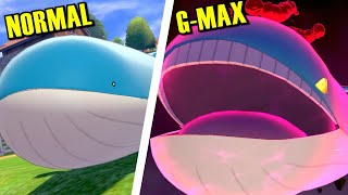 How Big can GIGANTAMAX Wailord Get in Pokémon Sword & Shield?