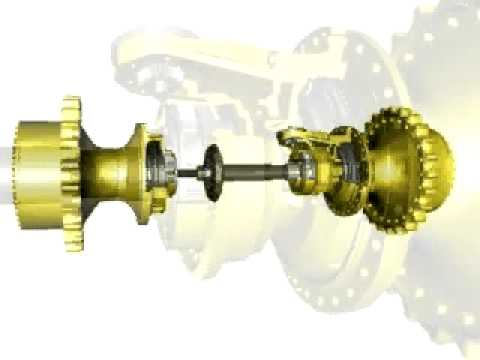 Differential Steering Cat 174 D6r Through D9r Dozer