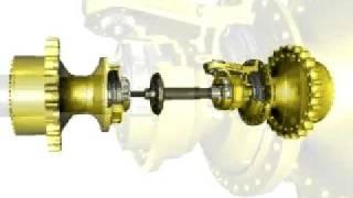 differential steering   cat d6r through d9r dozer steering system