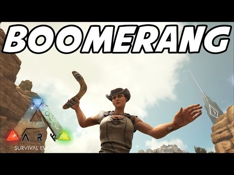 """ARK: Scorched Earth """"BOOMERANG!"""" E02 (Gameplay / Playthrough)"""