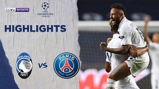 Atalanta 1-2 Paris Saint-Germain | Champions League 19/20 Match Highlights