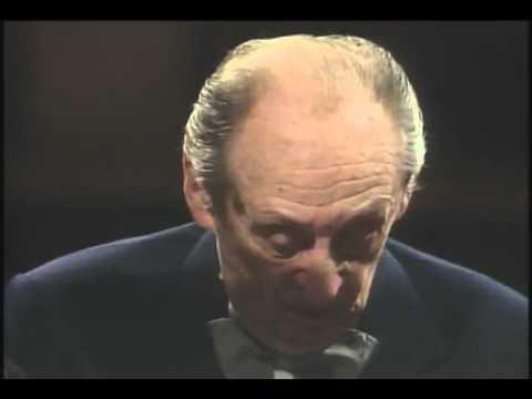 Horowitz plays Schubert Moment Musical No  3 in minor
