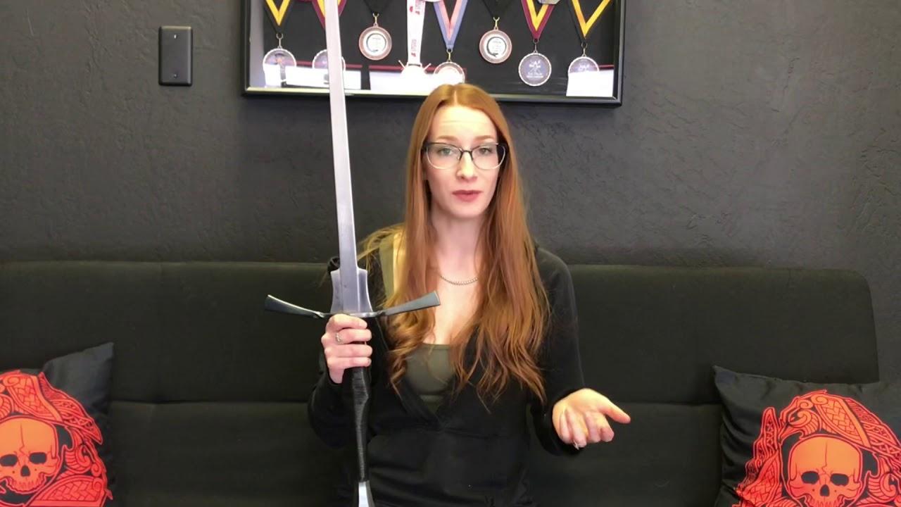 NEW Krieger Armory Longsword Feder Review ⚔️ HEMA Sword Review