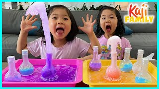 Magic Potion Easy DIY Science Experiments for Kids to do at home!!