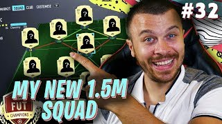 FIFA 20 MY NEW 1.5 MILLION HYBRID SQUAD for FUT CHAMPIONS! I GOT THE BEST CARD in ULTIMATE TEAM!