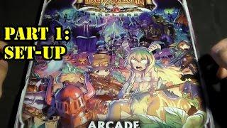 super dungeon explore arcade mode tutorial part 1 set up